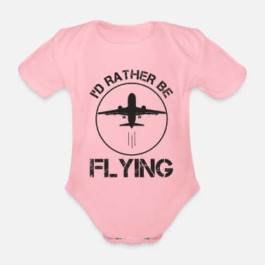 Aerobatic Better to fly - Organic Short-Sleeved Baby Bodysuit