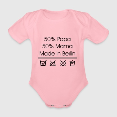 Berlin Made in Berlin - Baby Bio-Kurzarm-Body