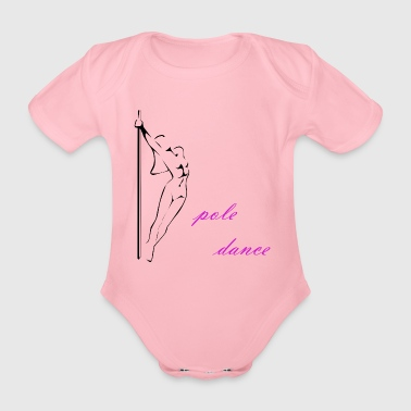 Pole Dance - Organic Short-sleeved Baby Bodysuit