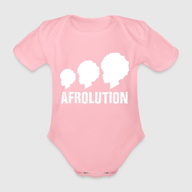 Afrolution Afro Pride T-shirt - Baby Bio-Kurzarm-Body