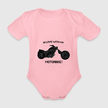 Love my Motorbike! - Organic Short-sleeved Baby Bodysuit