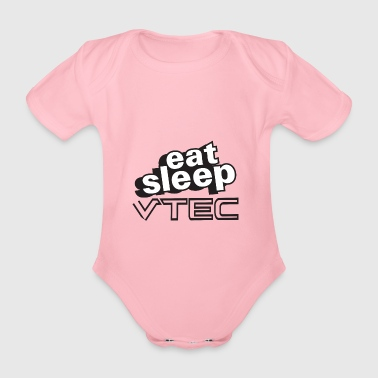 Eat Sleep VTec Design - Organic Short-sleeved Baby Bodysuit