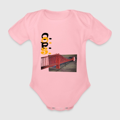 Golden gate - Organic Short-sleeved Baby Bodysuit