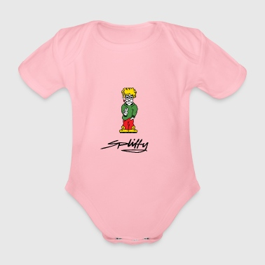 spliffy2 - Økologisk kortermet baby-body