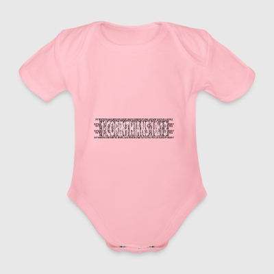 Corinthians 13: 4-8 Bible Prayer Christians Bible verses - Organic Short-sleeved Baby Bodysuit