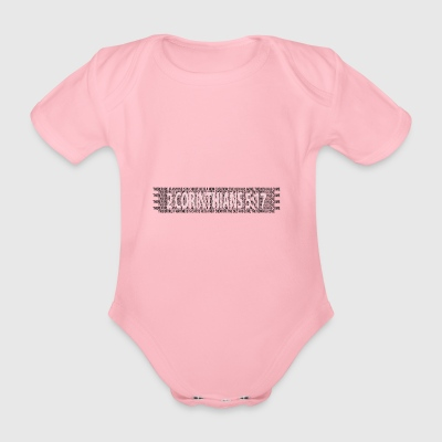 2 Corinthians 13: 4-8 Bible Prayer Christians Bible Verse - Organic Short-sleeved Baby Bodysuit