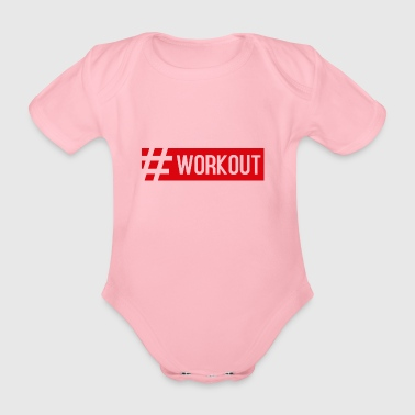 WORKOUT1 - Baby Bio-Kurzarm-Body
