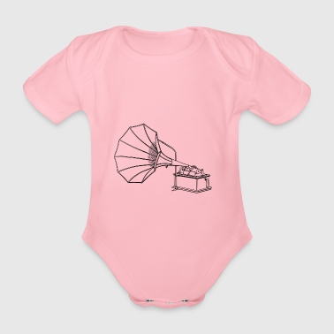 phonograph - Organic Short-sleeved Baby Bodysuit
