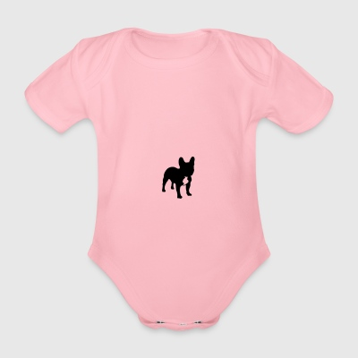 Bulldog Lover - Organic Short-sleeved Baby Bodysuit