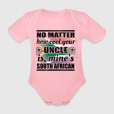 no matter uncle cool onkel gift South Africa png - Organic Short-sleeved Baby Bodysuit