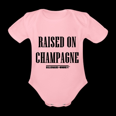 RAISED ON CHAMPAGNE - Rich Kids - Baby Bio-Kurzarm-Body