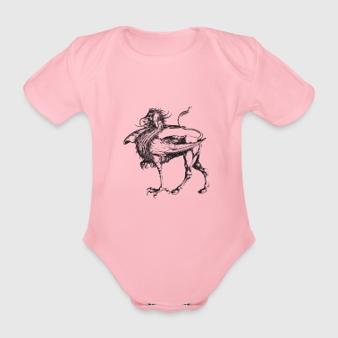 griffin - Organic Short-sleeved Baby Bodysuit