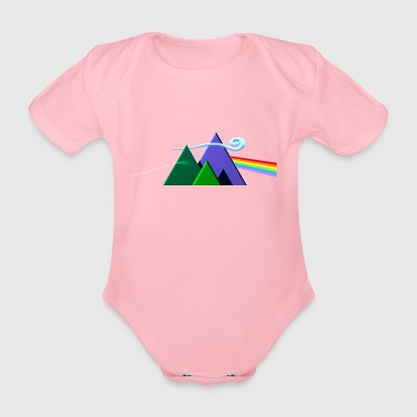 Dark Side Of The Mountains - Body bébé bio manches courtes