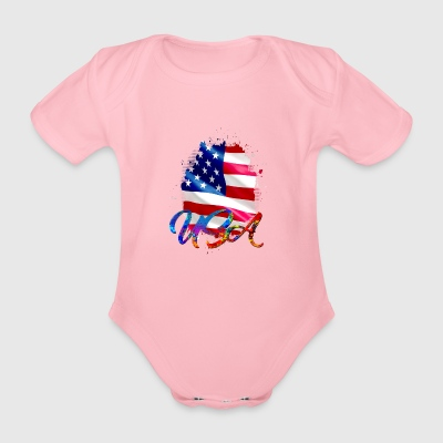 USA - US - Baby Bio-Kurzarm-Body
