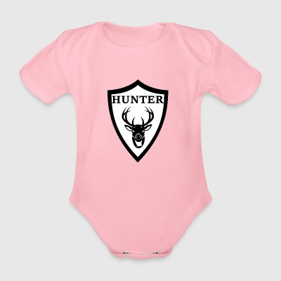 Hunter - Baby Bio-Kurzarm-Body