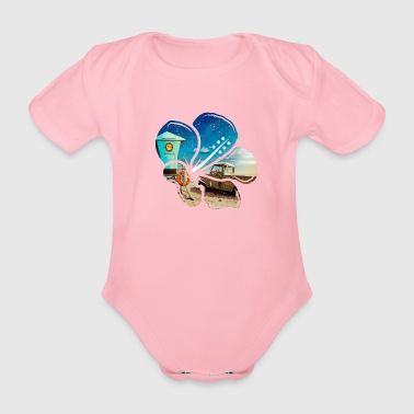 Surf for Life Chemises Surfer Chemises - Body bébé bio manches courtes