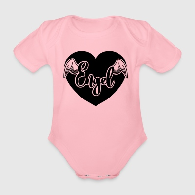 Angel - Organic Short-sleeved Baby Bodysuit