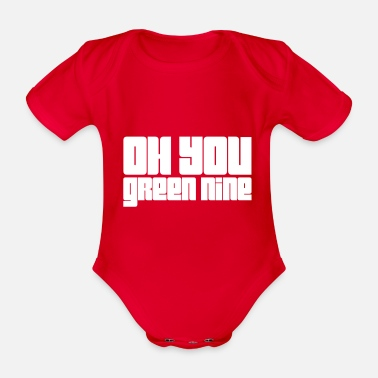 Neuner oh you green nine - Baby Bio Kurzarmbody