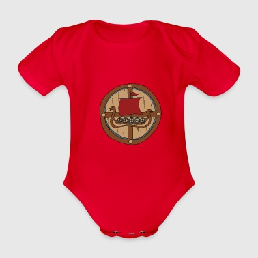 Viking Shield Vikings - Body bébé bio manches courtes