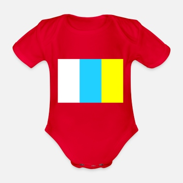 Canary Islands canary islands - Organic Short-Sleeved Baby Bodysuit