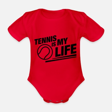Spiele tennis_is_my_life_no1 - Baby Bio Kurzarmbody