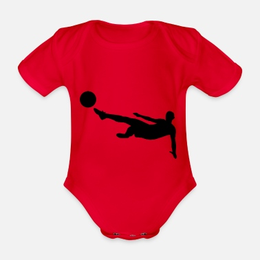 Bundesliga Football Bundesliga - Organic Short-Sleeved Baby Bodysuit