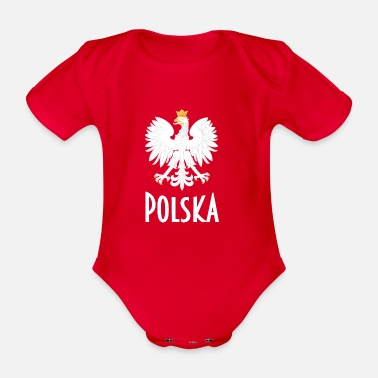 Polska - Organic Short-Sleeved Baby Bodysuit