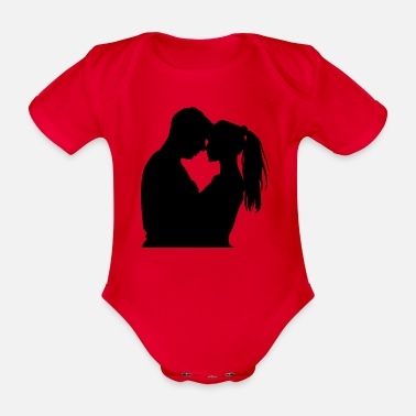 Affection affection - Organic Short-Sleeved Baby Bodysuit