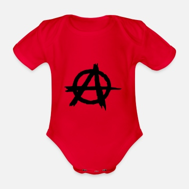 Anarchiste Anarchie punk anarchiste - Body bébé bio manches courtes