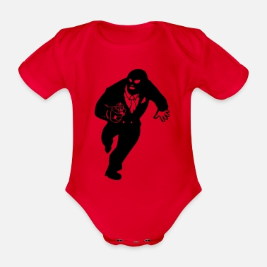 Raider raiders - Organic Short-Sleeved Baby Bodysuit