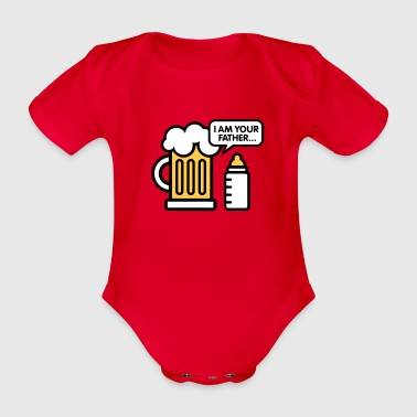 I am your father - Økologisk kortermet baby-body