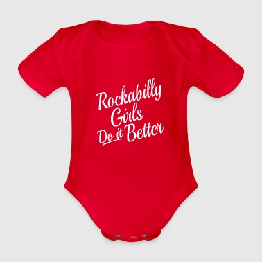 ROCKABILLY - Baby Bio-Kurzarm-Body