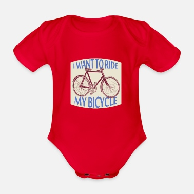 bicycle race - Baby Bio Kurzarmbody