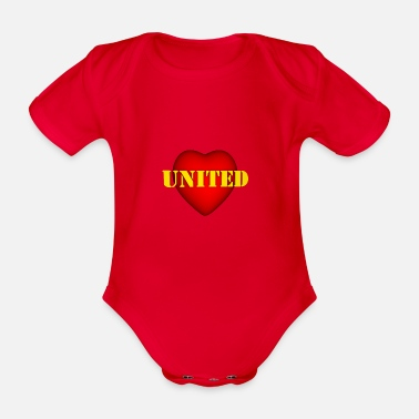 United United - Organic Short-Sleeved Baby Bodysuit