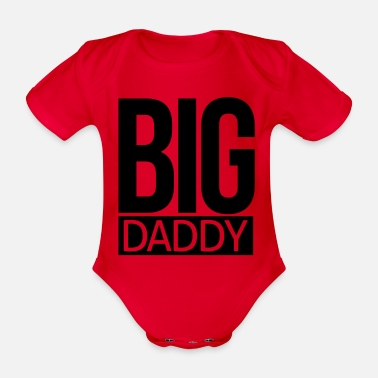Big Daddy big daddy - Organic Short-Sleeved Baby Bodysuit