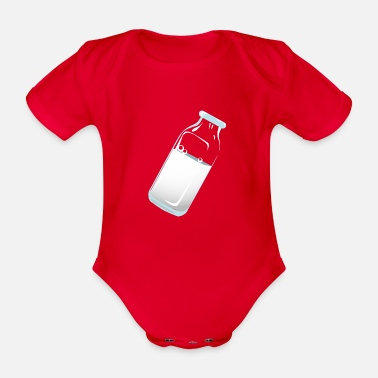 Milch Milch - Baby Bio Kurzarmbody