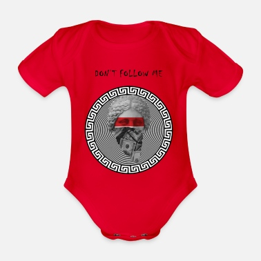 Dollar DOLLAR - Organic Short-sleeved Baby Bodysuit