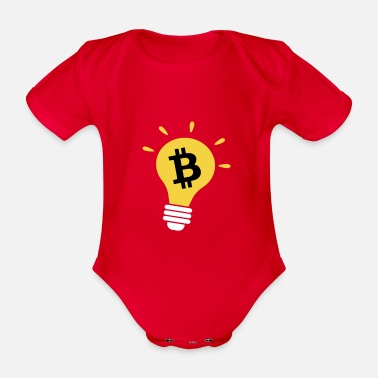 Nano Bitcoin is the solution - Organic Short-Sleeved Baby Bodysuit