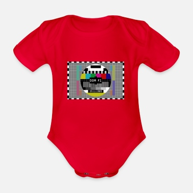 Fall Of The Wall GDR fall of the Berlin Wall 1989 - Organic Short-Sleeved Baby Bodysuit