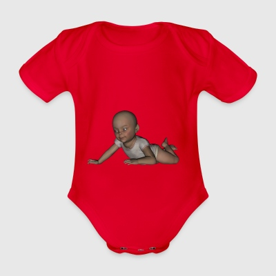 infant - Organic Short-sleeved Baby Bodysuit