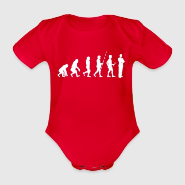 Evolution au don t-shirt avocat - Body bébé bio manches courtes