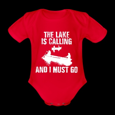 The Lake Is Calling - Organic Short-sleeved Baby Bodysuit