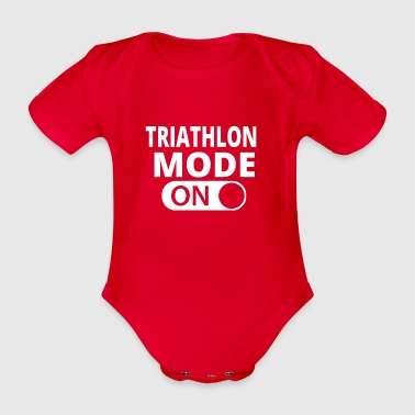 MODE ON TRIATHLON - Body ecologico per neonato a manica corta