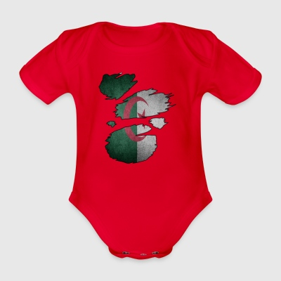 Roots Supland i love algeria algeria - Organic Short-sleeved Baby Bodysuit