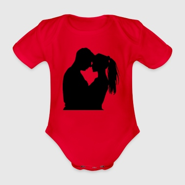 affection - Organic Short-sleeved Baby Bodysuit