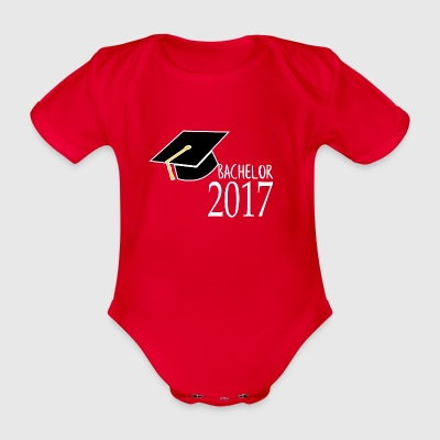 bachelor2017 - Organic Short-sleeved Baby Bodysuit