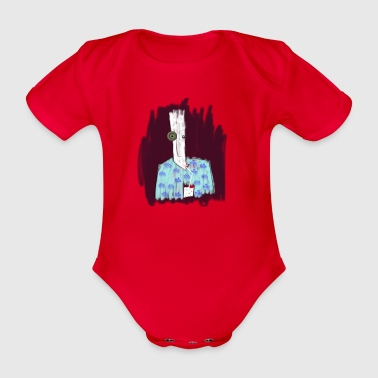 soda 3 - Organic Short-sleeved Baby Bodysuit