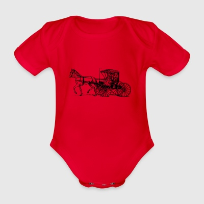 coach - Organic Short-sleeved Baby Bodysuit