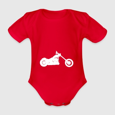 Softail Chopper - Baby Bio-Kurzarm-Body