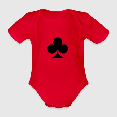 Card club - Organic Short-sleeved Baby Bodysuit